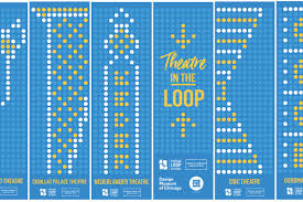 Graphic Design Chicago Iconic Loop Theater Marquees Get Graphic Design Makeover