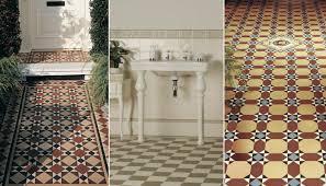 original style victorian geometric floor tiles