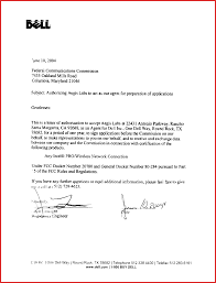 Awesome Authorized Letter Job Latter