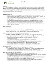 Here is a short view of the resume we will analyze. I will post the  reference link at the bottom for you to read over more easily.