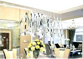 contemporary crystal dining room chandeliers crystal chandeliers dining room design ideas