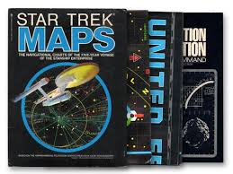 Star Trek Star Charts Book Star Trek Navigational Charts Star Charts Space Travel Television Shows Televison Memorabilia Collectible Star Trek Prop Vintage Maps
