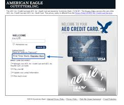 american eagle credit card pay bill