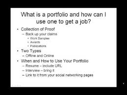 What Is A Resume Interesting How To Make A Resume What Is A Portfolio And How Can I Use One To