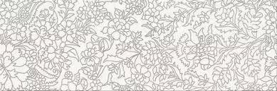 <b>Керамический декор Mei Pret</b>-a-<b>Porte</b> White Iserto Flower O-PRP ...