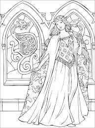 Principesse Da Colorare Macro Carte Libro