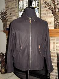 details about territory ahead black leather er jacket s