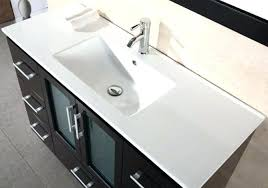 one piece bathroom sink and countertop integrated on for awesome bathroom sink countertop one piece