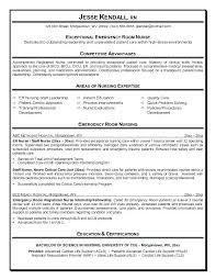 Sample Rn Resume Sample Resume Sample Er Nurse Resume Example Resume