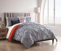 bed sheet and comforter sets 9 piece taraz navy white w cotton sheets comforter set