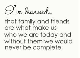 Family And Friends Support Quotes Welkombijdeheeren