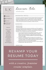 What To Put On Modern Resume Creative Resume Template For Word Pages Cv Design Cv