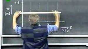 Mit teacher draws perfect dotted lines on blackboards with chalks. Mit Chalk Dotted Line Lecturer Youtube