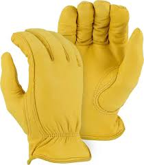 majestic 1542t winter deerskin work gloves
