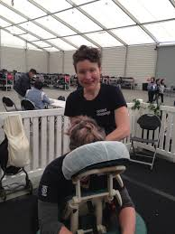 Our Corporate Massage practitioner partner highlights: Jane Shelton -  Seated Massage