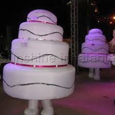 Aliexpresscom Buy Adult Happy Birthday Cake Walk About Inflatable