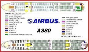 Airbus A380 Seating Plan Seating Chart