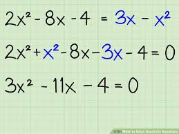 factoring the equation image titled solve quadratic equations step 1