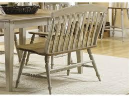 Wooden Kitchen bench with backrest