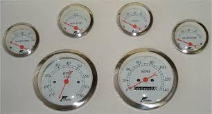 instrument gauges dolphin gauges wiring diagram gauge 6 white jpg (37157 bytes)