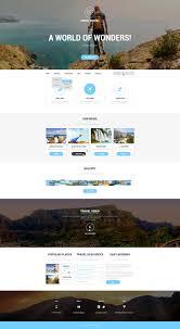 Tour Company Website Design Travel Agency Responsive Website Template 50911 Travel