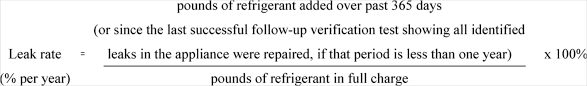 How To Calculate Your Refrigerant Leak Rates Like A Pro