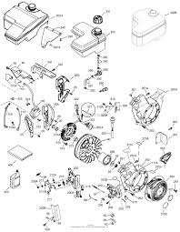 Tecumseh ohh5068022f parts diagram for engine parts list 2