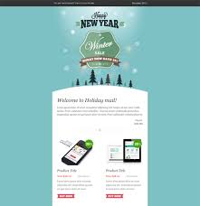 Winter Sale Christmas Holiday Email Template Holiday