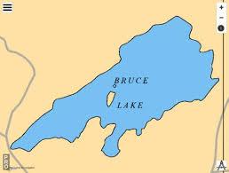 Bruce Lake Fishing Map Ca_on_v_103381857 Nautical