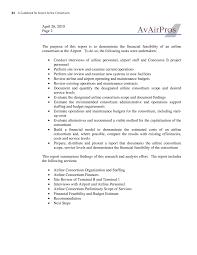 Sample Feasibility Report Appendix E Feasibility Study Illustrative Example A Guidebook 17