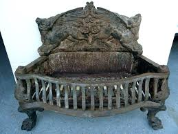 fireplace grate home depot cast iron outdoor grates canada