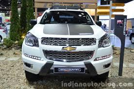 Chevrolet Colorado High Country front at the 2015 Bangkok Motor ...