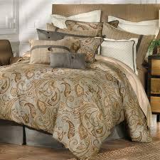 bedding moroccan gray paisley reversible quilt set