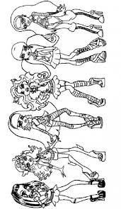 Small Picture Monster High Draculaura Coloring Pages Monster High Coloring
