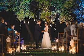 5 Examples Of Nighttime Wedding Ceremony D Cor For Inspiration