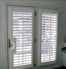 mini blind french patio doors