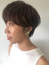 ショートヘアはパーマで柔らかく 長野市の美容室etrange