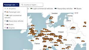 Car Manufacturers Chart Acea European Automobile Manufacturers Association