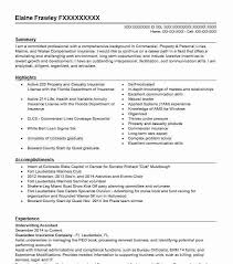 Underwriting Assistant Resume Sample Accountant Resumes