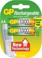 <b>GP</b> Rechargeable 2xAA 1300 mAh – купить <b>аккумулятор</b> ...