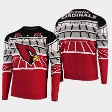Arizona Cardinals Light Up Sweater Men Cardinals Bluetooth Light Up Sweater Cardinal