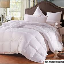 220*240cm Plus Size Duvet White Duck Down Edredon Winter Comforter ... & 220*240cm Plus Size Duvet White Duck Down Edredon Winter Comforter Sateen  Jacquard Feather Quilt Blankets Thickening Bedspread-in Bedding Sets from  Home ... Adamdwight.com