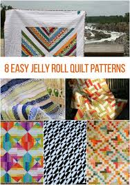 On a Roll! 8 Easy Jelly Roll Quilt Patterns &  Adamdwight.com