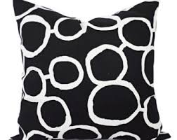 black and white accent pillows. Modren Accent Black White Couch Pillow Covers  Two And Throw Pillows Sofa  Cover Accent And 0
