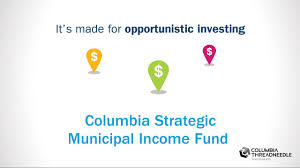 columbia strategic income fund fact sheet intax columbia strategic municipal income fund columbia