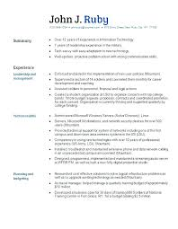 Sample Of Functional Resume Format Sample Functional Resume Template