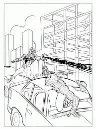 Coming venom marvel coloring page. Spiderman And Venom Coloring Page Coloring Home