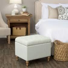 teal bedroom furniture. homepop medium tufted storage ottoman light teal bedroom furniture