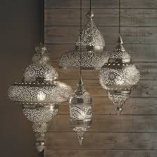 moroccan inspired lighting. Alternative Kitchen Pendant Lighting, Moroccan Hanging Lamp Collection - Silver Finish | VivaTerra Inspired Lighting S