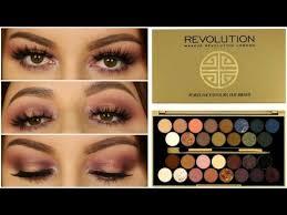 <b>Makeup Revolution</b> Fortune Favours The Brave Palette Tutorial ...